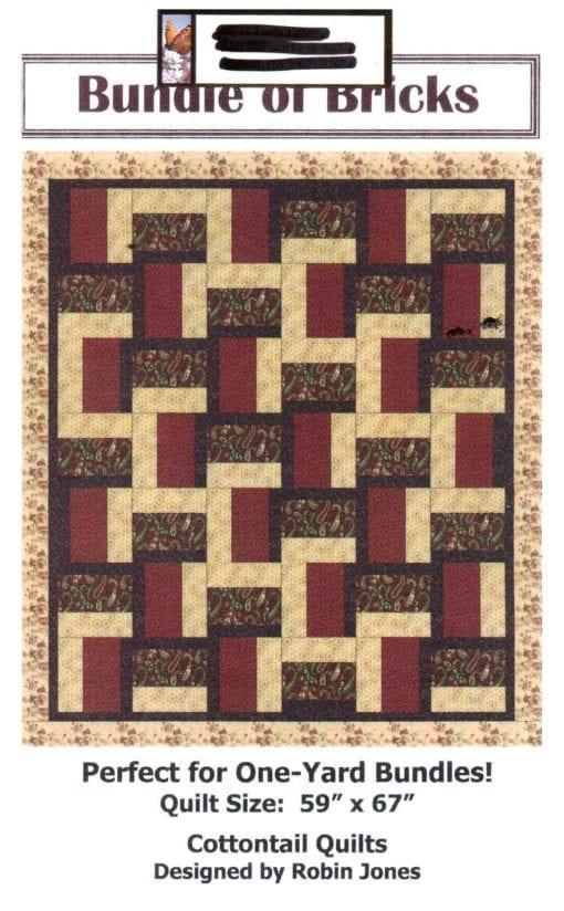 Cottontail Quilts Bundle of Bricks Quilt
