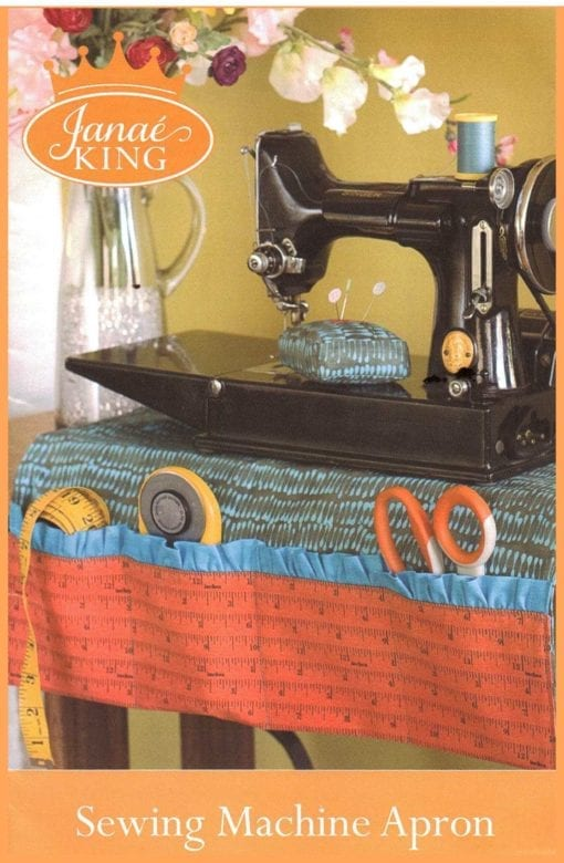Janae King Sewing Machine Apron