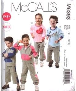 McCalls M6393