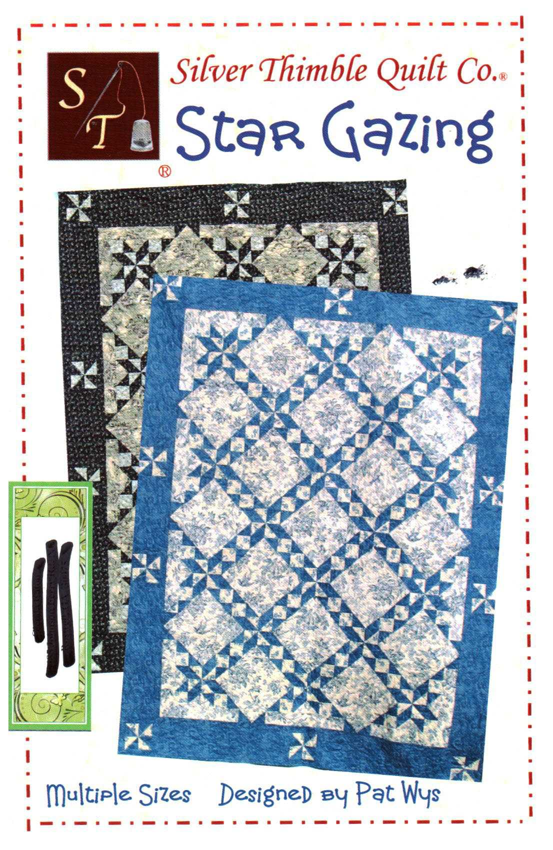 Silver Thimble Quilt Star Gazing