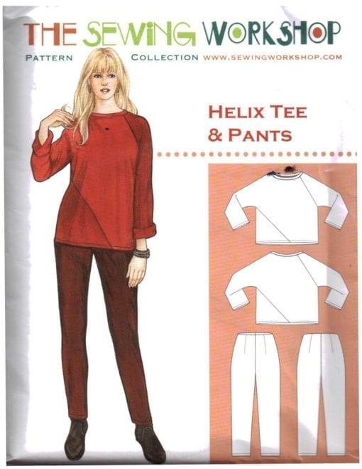 The Sewing Worshop Helix Tee Pants