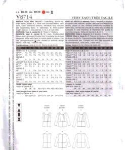 Vogue V8714 1