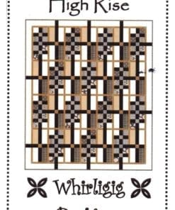 Whirligig Designs Quilt High Rise
