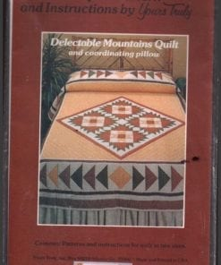 Yours Truly Delectable Mountains Quilt Pillows