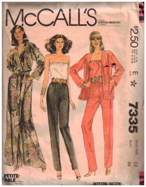 McCalls 7335