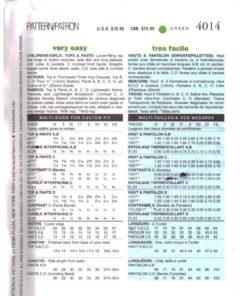Butterick 4014 M 1