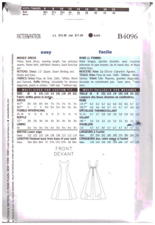 Butterick B4096 M 1
