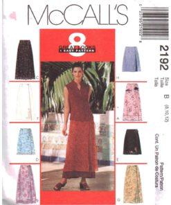 McCalls 2192 M