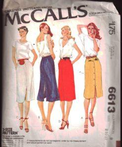 McCalls 6613 M