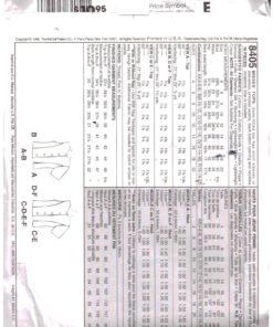 McCalls 8405 M 1