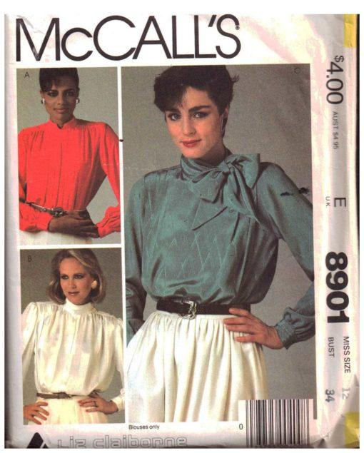 McCalls 8901 M