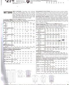 McCalls M7399 M 1