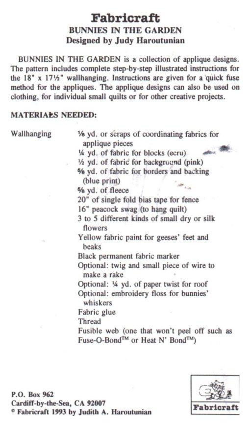 Fabricraft 336 1