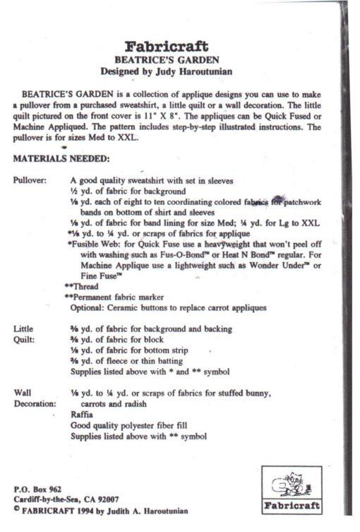 Fabricraft 346 1