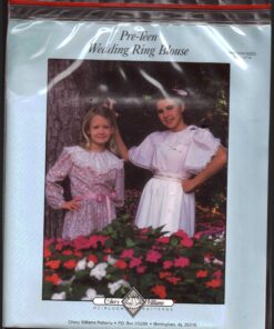 Chery Williams Lacy Pre Teen Wedding Ring Blouse