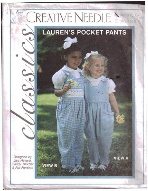 Creative Needle Laurens Pocket Pants