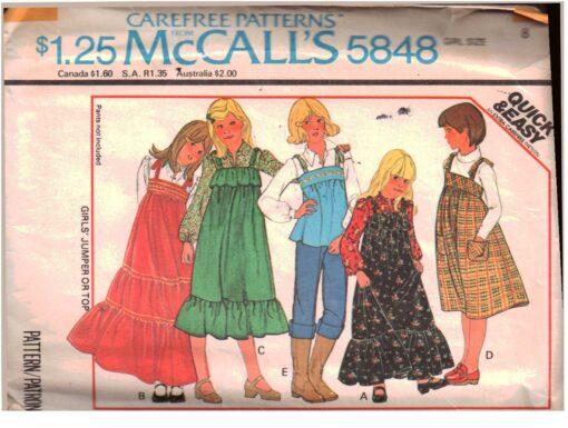 McCalls 5848 A