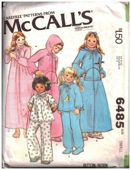 McCalls 6485 A
