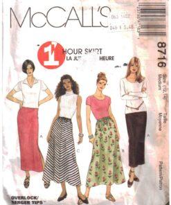 McCalls 8716 A