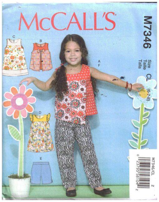 McCalls M7347 A