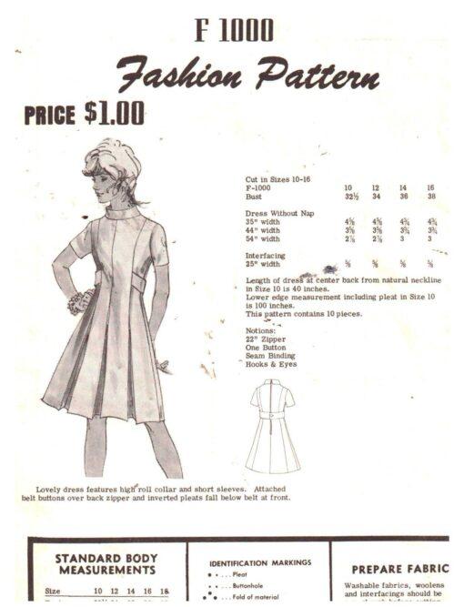 Fashion Pattern F1000 D