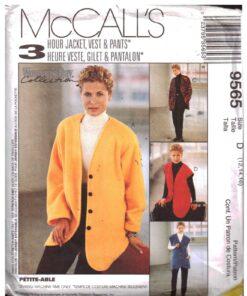 McCalls 9565 J
