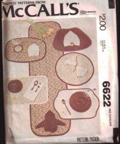 McCalls 6622 J