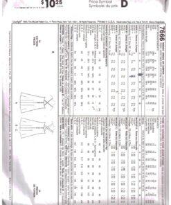 McCalls 7666 D 1