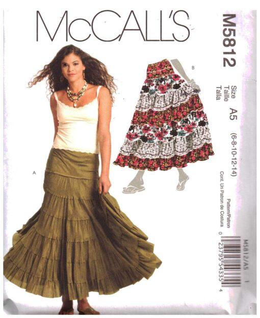 McCalls M5812 D