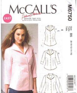 McCalls M6750 D