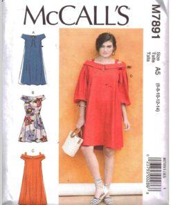 McCalls M7891 D