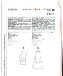 Butterick B5273 F 1