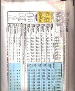 McCalls 5440 J 1