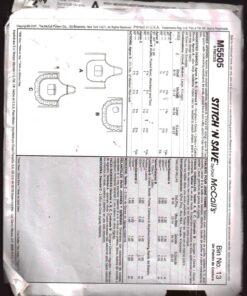McCalls M5505 1