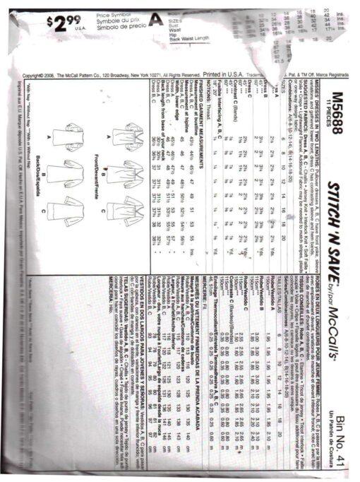 McCalls M5688 1