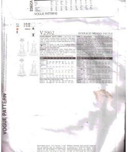 Vogue V2902 1