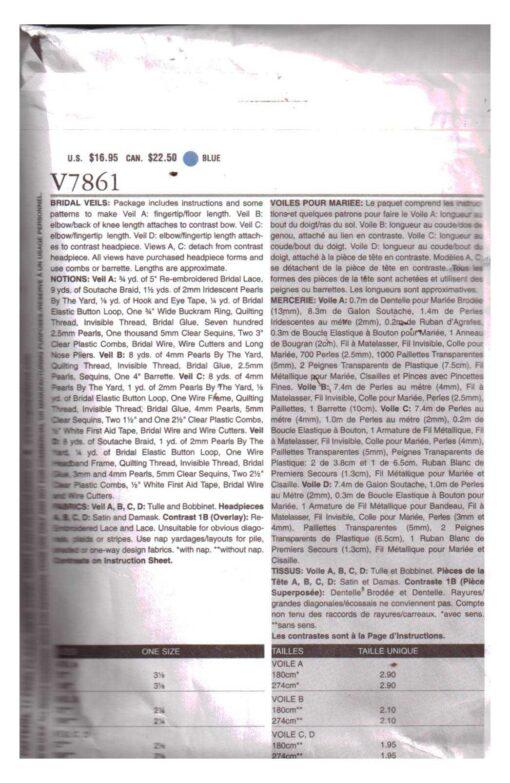 Vogue V7861 2
