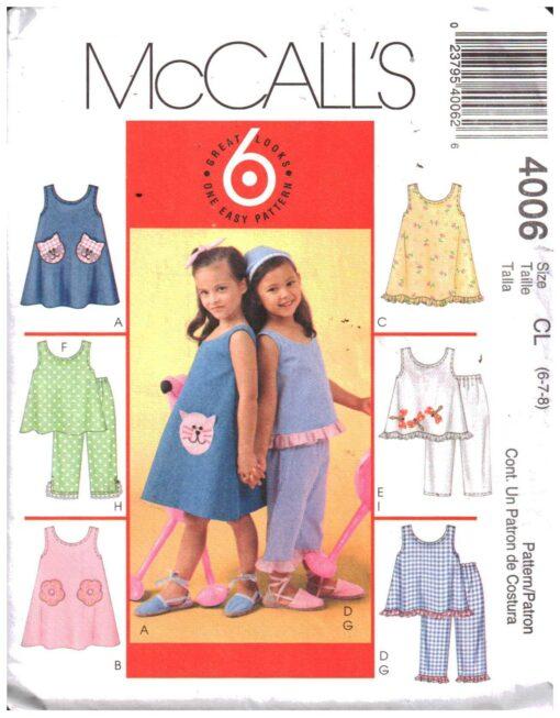 McCalls 4006
