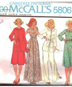 McCalls 5806