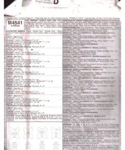 McCalls M4541 a
