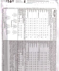 McCalls M5106 a