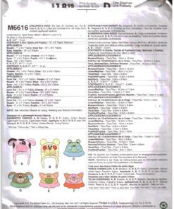 McCalls M6616 a