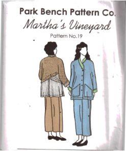 Park Bench Pattern Co 19 Marthas Vineyard