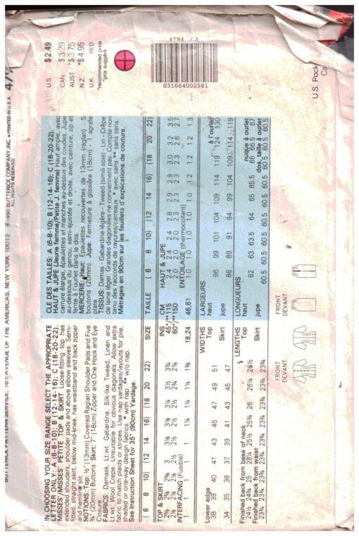 Butterick 4794 1