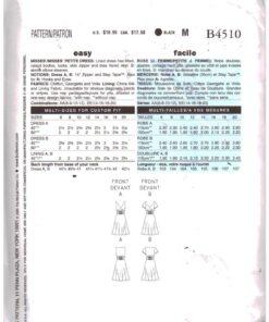 Butterick B4510 1