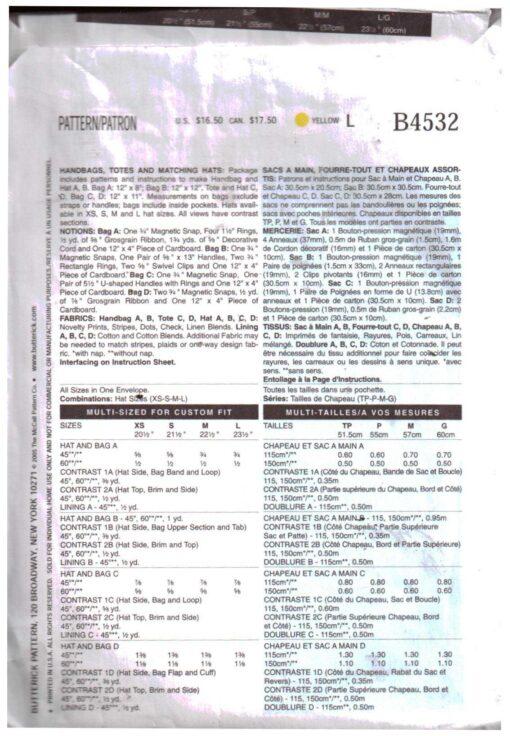 Butterick B4532 1