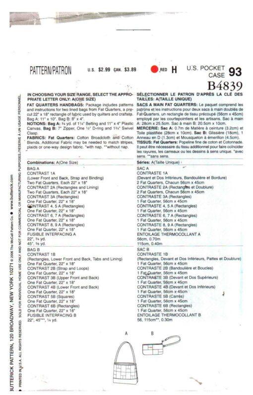 Butterick B4839 1