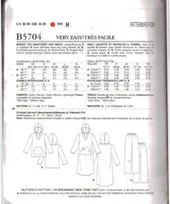 Butterick B5704 1