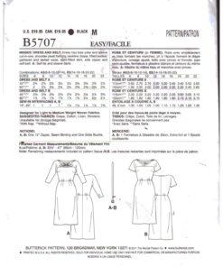 Butterick B5707 1