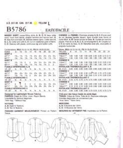 Butterick B5786 1